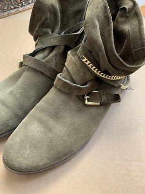 Kennel und Schmenger Korte laarzen olijfgroen