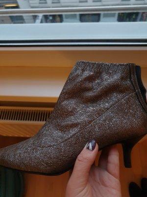 Alisha Enkellaarsjes met hak grijs