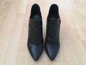 Stiefeletten Leder schwarz Größe 39
