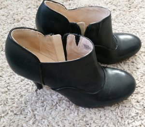 Stiefeletten Leder schwarz Rockport Adidas 38