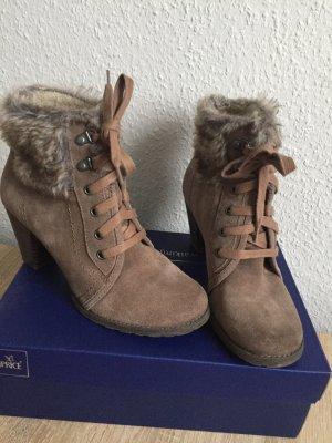 Street Super Shoes Aanrijglaarsjes lichtbruin-grijs-bruin