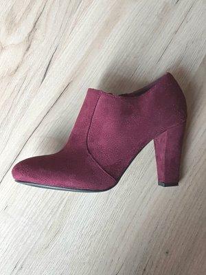 Sacha High Boots carmine