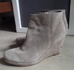 5th Avenue Wedge Booties multicolored