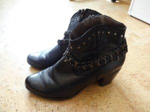 Cm Laufsteg Western Booties black leather