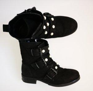 5th Avenue Bottines noir cuir