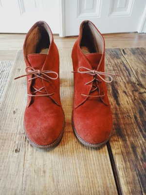 Stiefeletten Orange