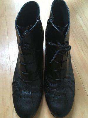 Paul Green Patucos con cordones negro