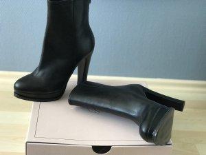 Stiefeletten Pumps Absatz Schuhe