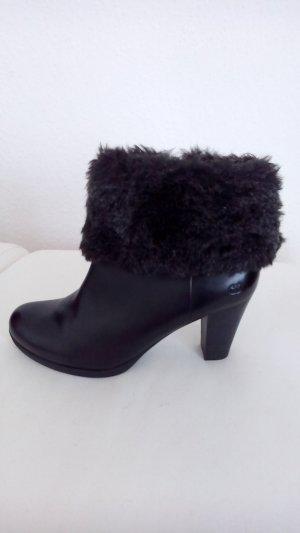 Gerry Weber Zipper Booties black leather