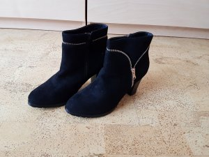 Jumex Zipper Booties black