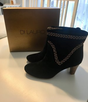 Stiefeletten schwarz, Leder von Di Lauro, 41