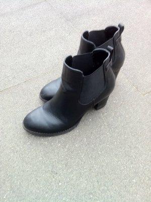 Stiefeletten schwarz von Pesaro