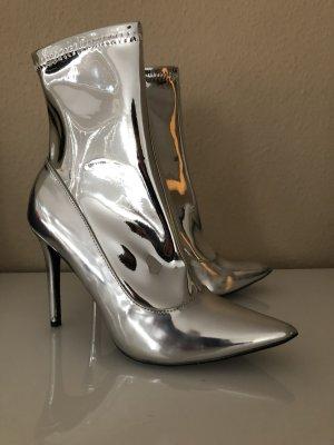 Stiefeletten Silber Gr.40 heels EGO Boots