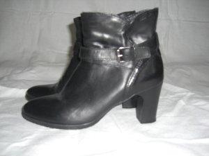 Stiefeletten Tamaris Leder schwarz Größe 40