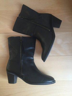 Stiefeletten Tango Größe 39 Leder schwarz