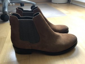 Tommy Hilfiger Booties brown leather