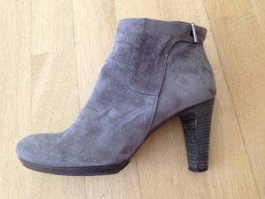 Alberto Fermani Bottines gris daim