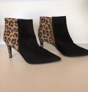 Andrea Manueli Slip-on Booties brown-black