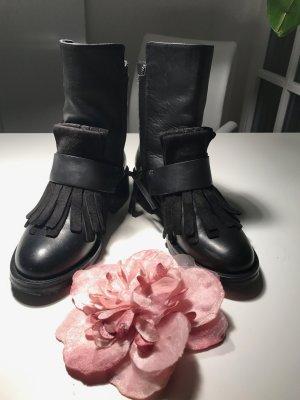 Dorothee Schumacher Low boot noir cuir