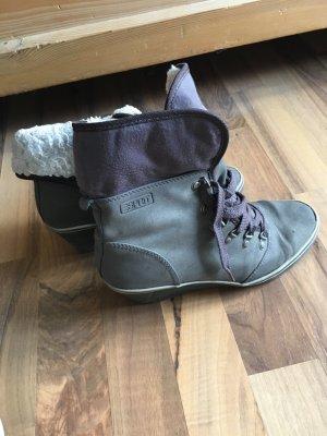 Esprit Booties grey-white