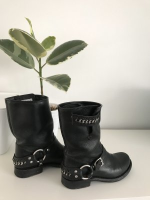 Bottines à enfiler noir