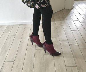 Stiefeletten von H&M Pink Gr. 39 High Heels Stiefel