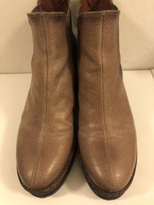 Hispanitas Wedge Booties bronze-colored