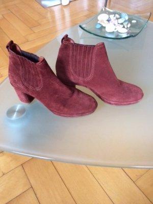Högl Botas deslizantes rojo amarronado-bermejo