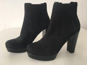 Kennel und Schmenger Platform Booties black leather