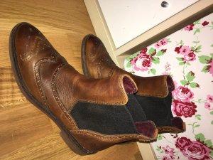 Marc O'Polo Chelsea laarzen donkerbruin