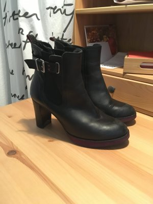 Mexx Booties black-blackberry-red