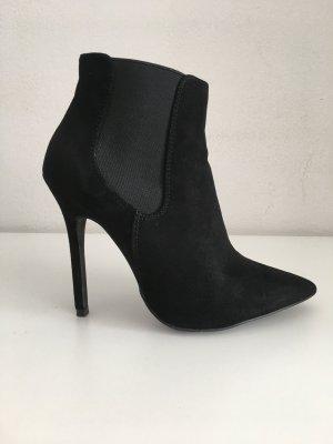 New Look Bottines à enfiler noir