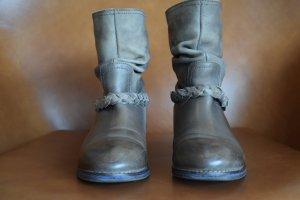Stiefeletten von  Shoot/ Booties aus Leder