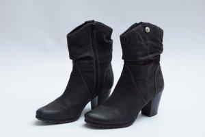 Tamaris Booties black-taupe