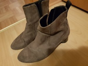 Zara Booties anthracite-grey brown