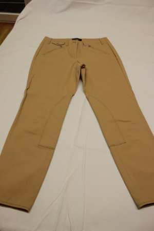 Cambio Breeches oatmeal cotton
