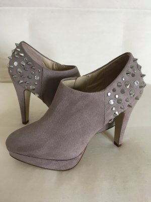 Catwalk Platform Booties grey