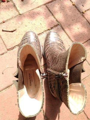 Korte laarzen zilver