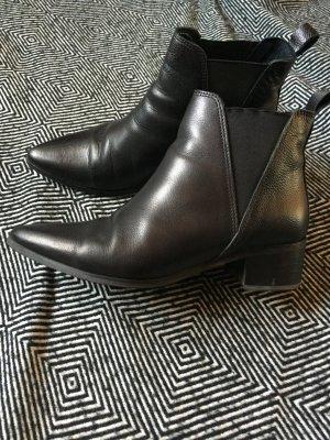 Stiefelletten Chelsea Boots Bianco Gr 37