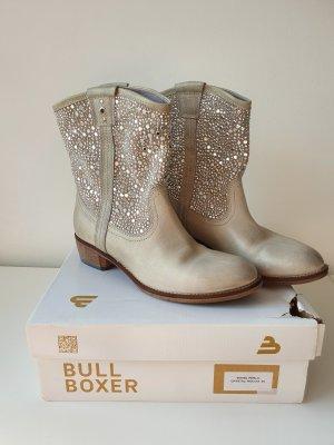 Bullboxer Slip-on Booties light grey