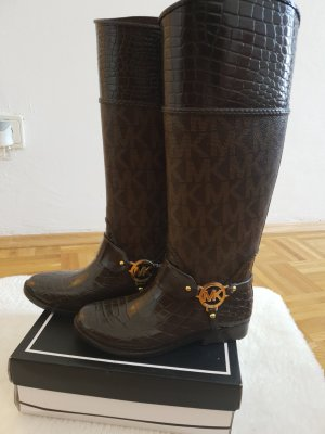 Michael Kors Winter Boots taupe-black brown