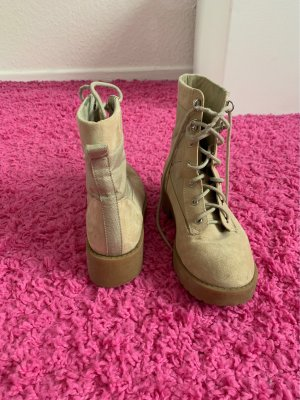 H&M Lace-up Boots multicolored
