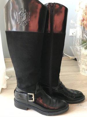 Zara Rijlaarzen zwart
