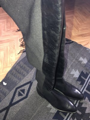 Zara Basic Botas altas negro