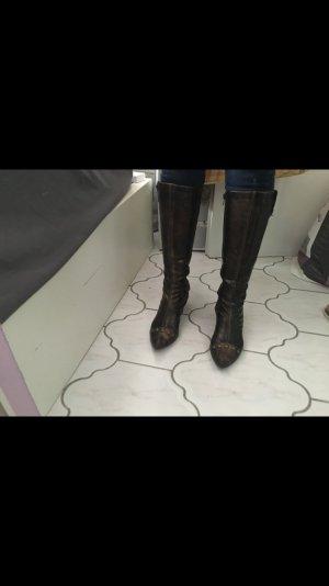 Stiefeln Bronze mit Nieten