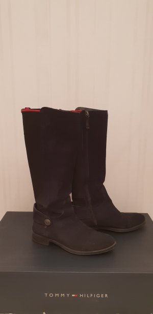 Tommy Hilfiger High Boots dark blue