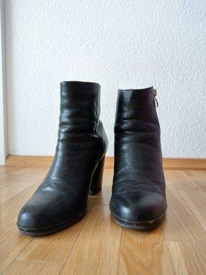Stieflette Ankleboots schwarz
