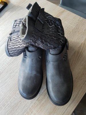 Stieflette in grau