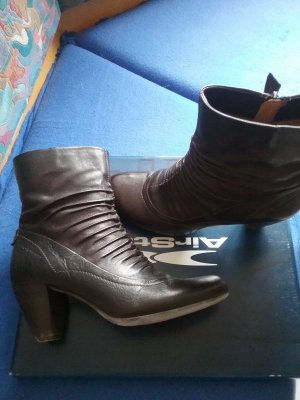 Airstep Booties dark brown