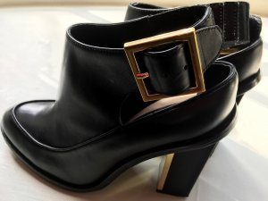 Kat Maconic Cut Out Booties black leather